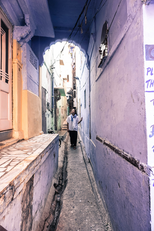 Narrow streets of Jodhpur