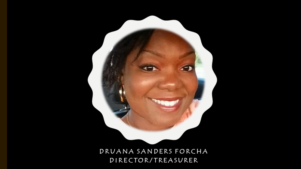 Meet Druana - Druana is the Director/Treasurer of Filling Tummies. She holds an undergraduate degree in Electrical Engineering and Master's in Performance Improvement from Grantham University. She is the mother of 4, works for Booz Allen Hamilton, and is the owner of Asa Is Beautiful where she creates custom items.
