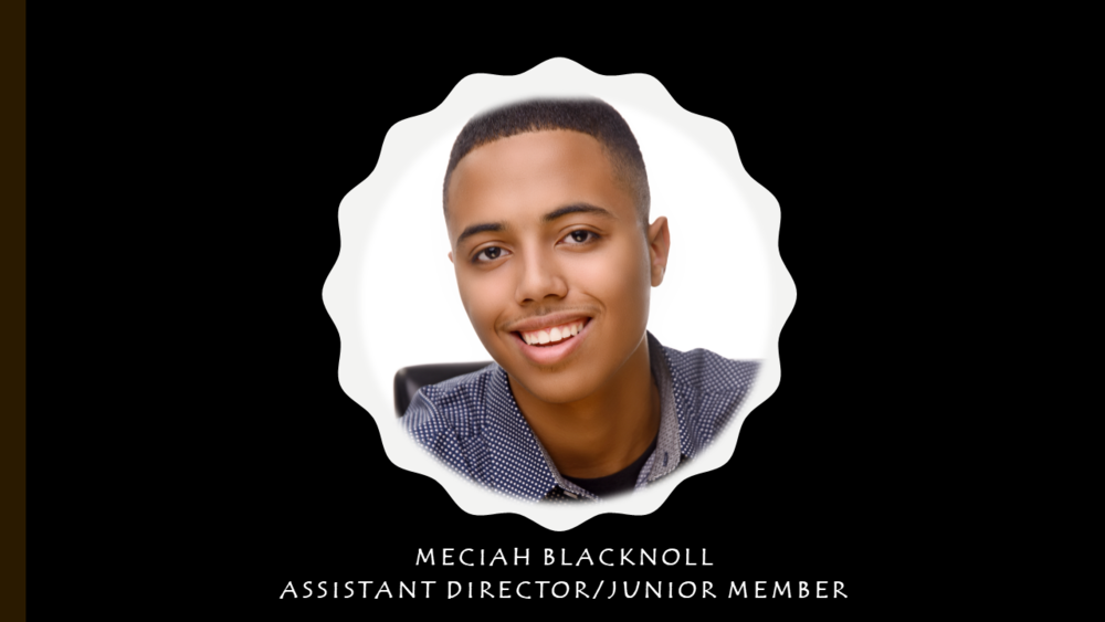 Meet Meciah - Meciah is the Assistant Director of Filling Tummies. He leads junior board members and volunteers. He is a student at Carl Albert High School and his favorite subject is Science.