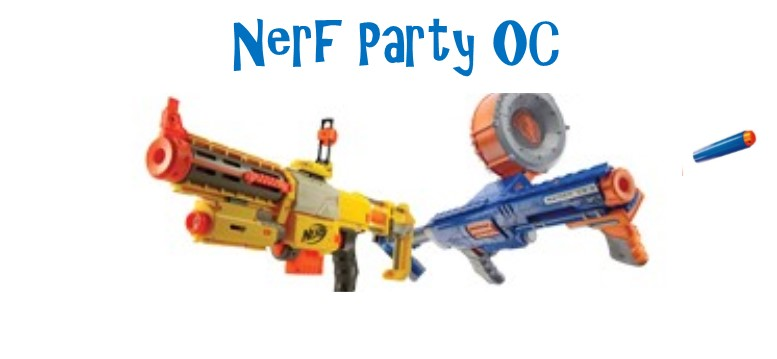 Nerf Gun Battles for Birthday Parties and Special Events