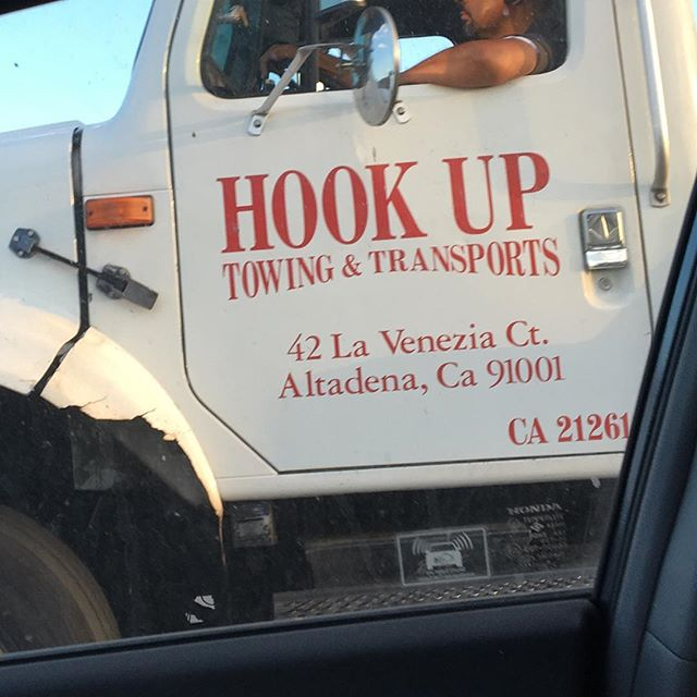 LA's hottest, new tow truck dating service.