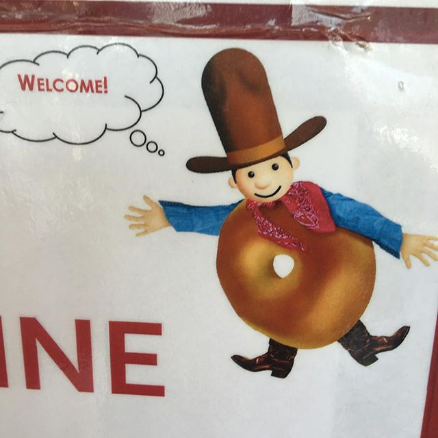 When a cowboy fucks a bagel.