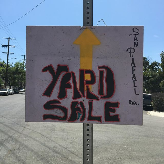 I bought a yard.