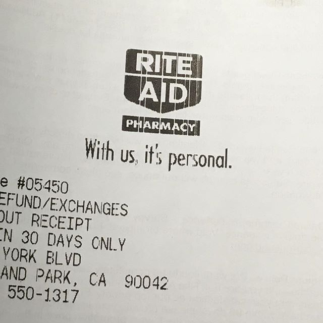 Why's Rite Aid so worked up?