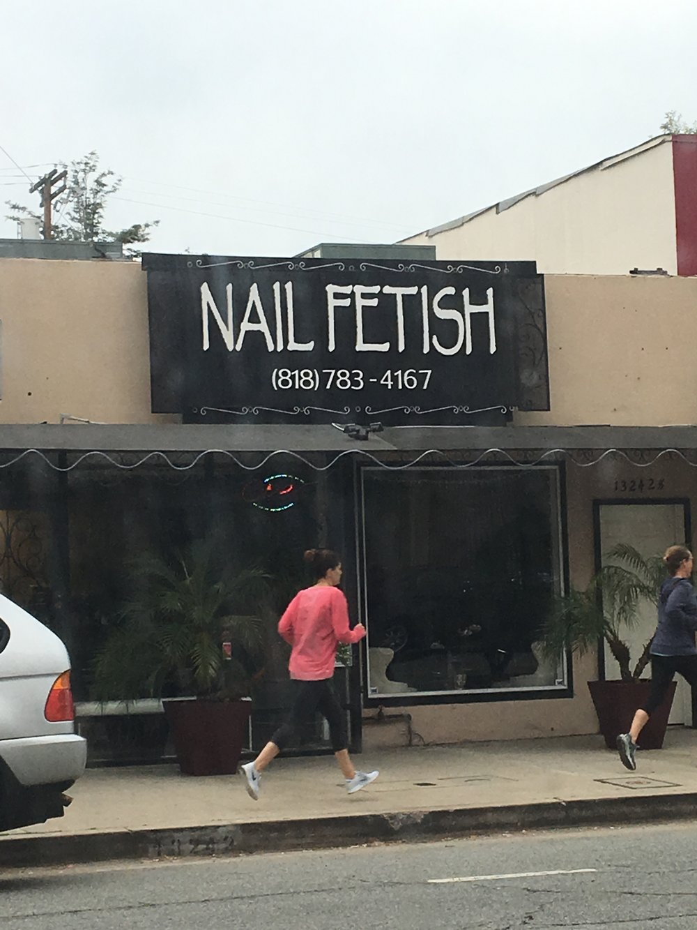Very specialized type of foot fetish.