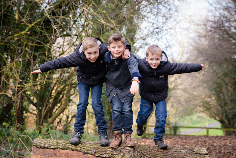 Yorkshire family children photoshoot photographer wetherby winter 16 of
