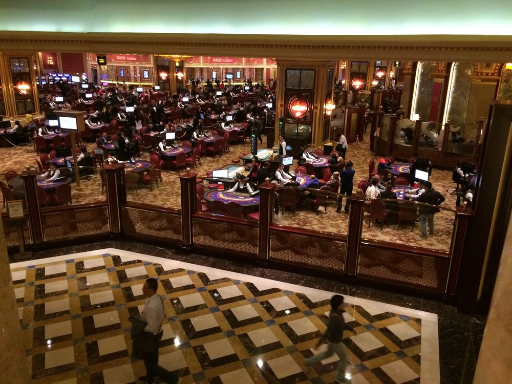 Casino gaming floor