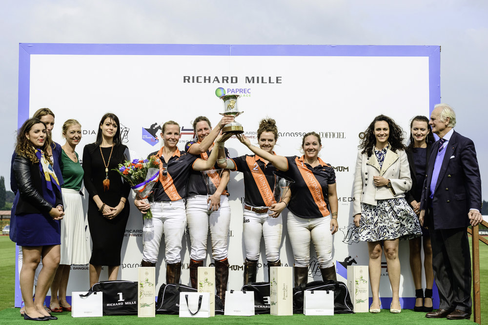 ....HUNTINGTON APES HILL remporte l'Open de France féminin 2016 .. HUNTINGTON APES HILL wins the 2016 French Open ....