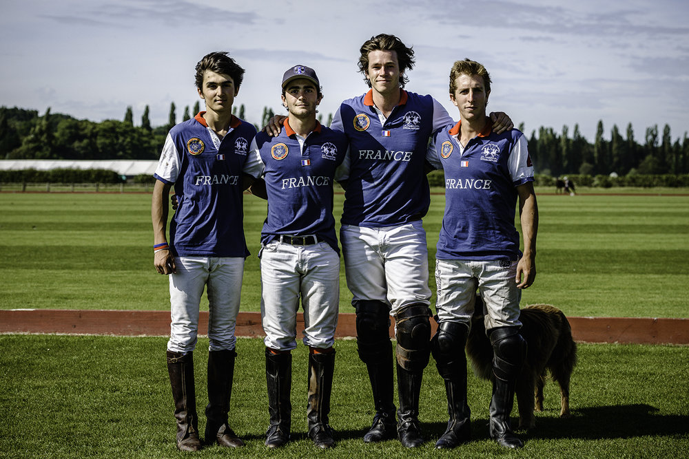 L'Equipe de France de polo   The French Polo Team