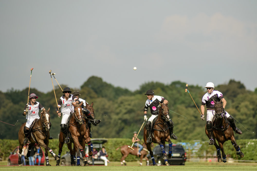 Match au Polo Club du Domaine de Chantilly   Game at the Chantilly Polo Club