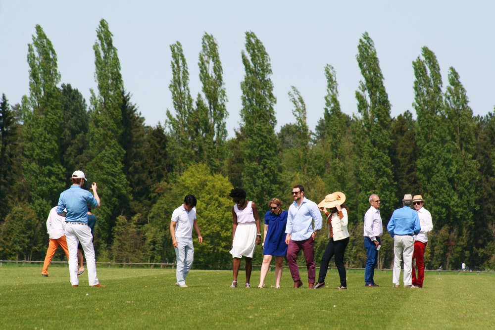 Polo Club Du Domaine de Chantilly Visitors.JPG