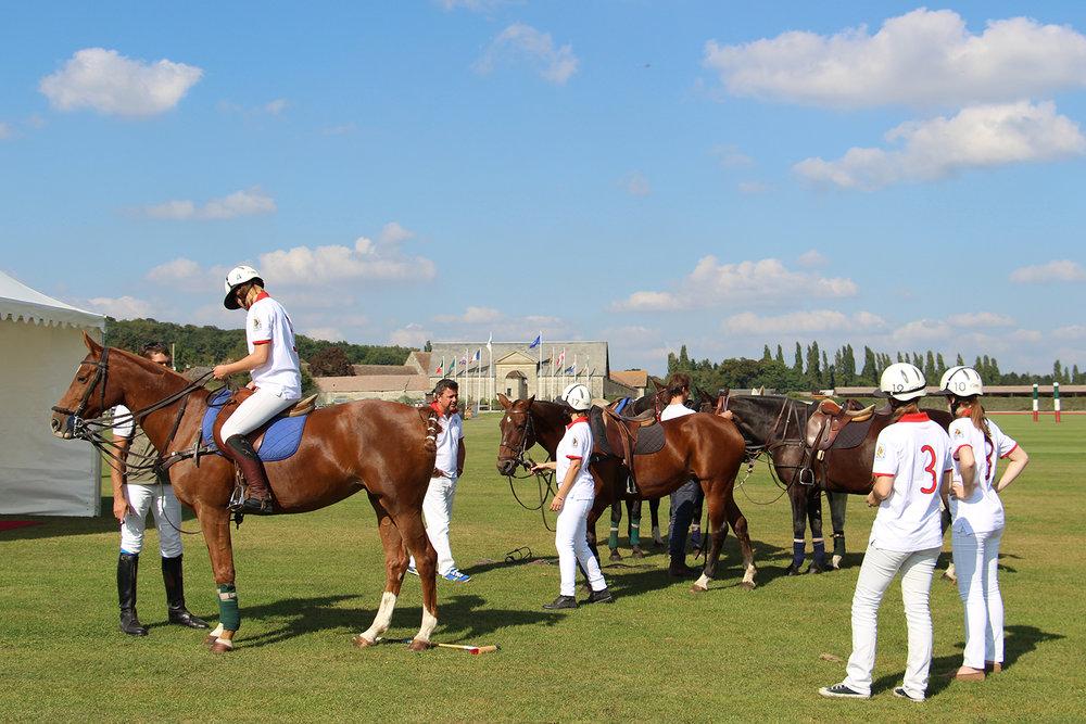 Initiation au polo au Polo Club du Domaine de Chantilly Polo initiation at Chantilly Polo Club