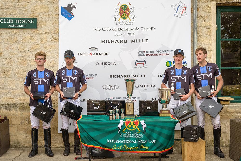 SAINTE-MESME - Finaliste du Trophée Bourbon 2018
