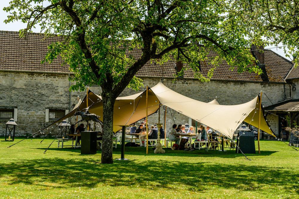 Le Jardin du Club House - © Evelina Jakovlevskaja
