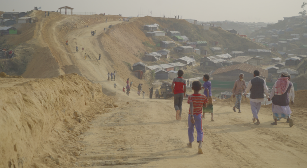 Hundreds of Rohingya continue to flee into Bangladesh daily and the camps are growing in response, with new construction breaking ground in Kutupalong Camp.