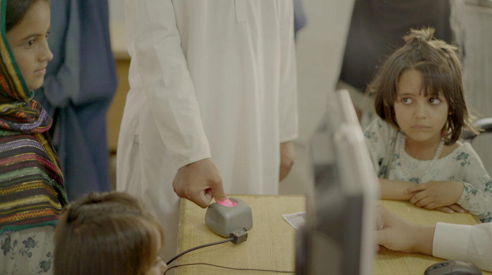 Biometrics are a key part of the process to de-register Afghan refugees from the NADRA system.