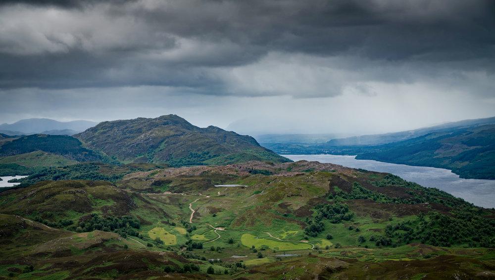 57°13'5.01N   4°31'22.75W, Knockie Lodge, Loch Ness.jpg