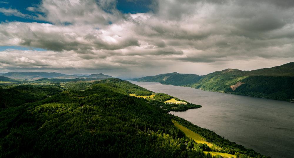 Loch Ness, Scotland - 57°16'4.39N 004°27'42.00W