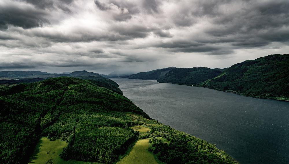 """Loch Ness, Scotland - 57° 14' 42.5184""""N 004° 30' 14.6514""""W"""