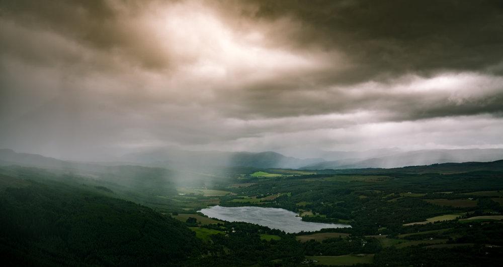 Loch Enrick, Scotland - 57°20'17.20N 004°33'9.23W