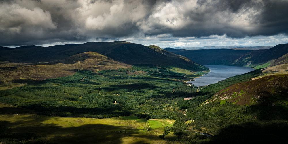 Loch Glass, Scotland - 57°40'38.86N 004°25'20.93W