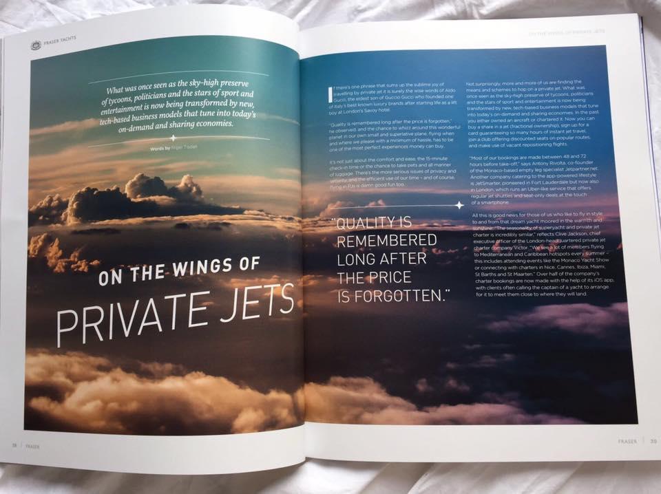 Swedish Skies, Monaco Boat Show Magazine.