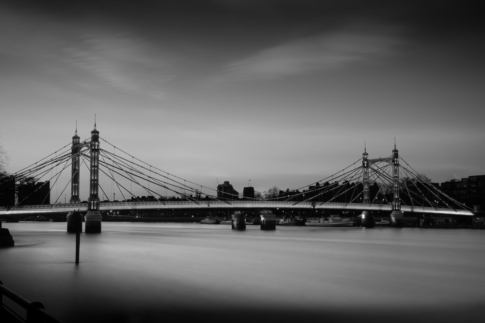 -High Tide Albert Bridge-