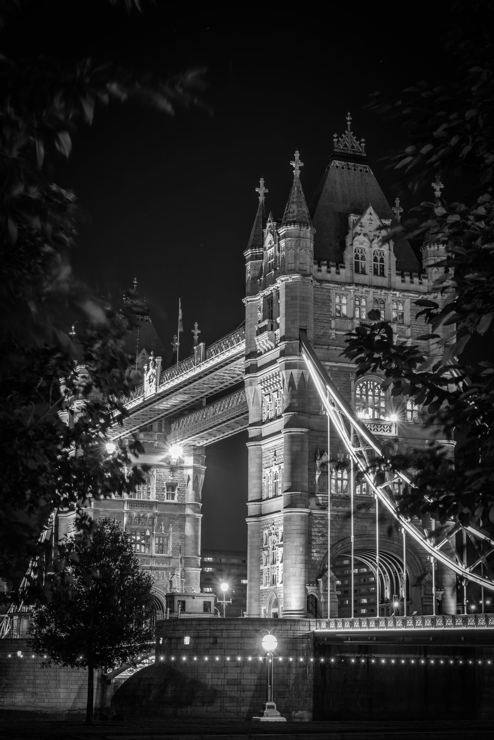 -Lighting Up Tower Bridge-