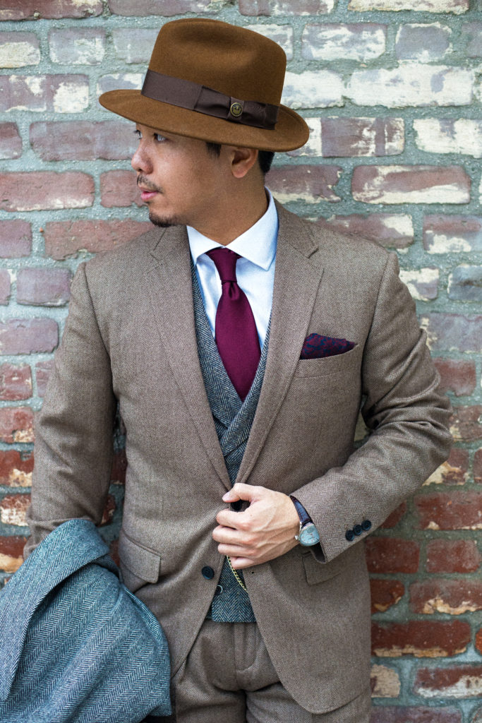 Fedora : Goorin bro                Watch : Ben Sherman