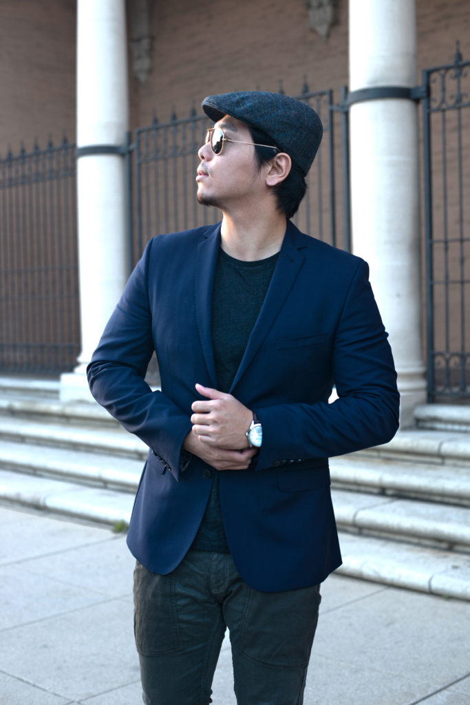 Happy Friday! - Did you read my Indochino post yet? If not, here's the link:  ClickAnyhow, I'm excited to share this look with you guys. I've been loving this hat from Herring Shoes, hope you're not sick of it yet. :)