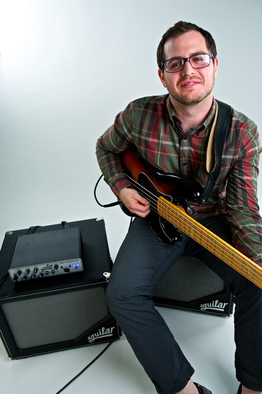 Aguilar Amps, promo shoot