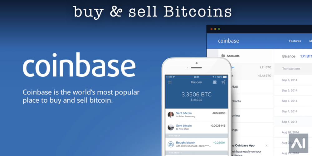 Coinbase is the World's most popular place to buy & sell Bitcoins.