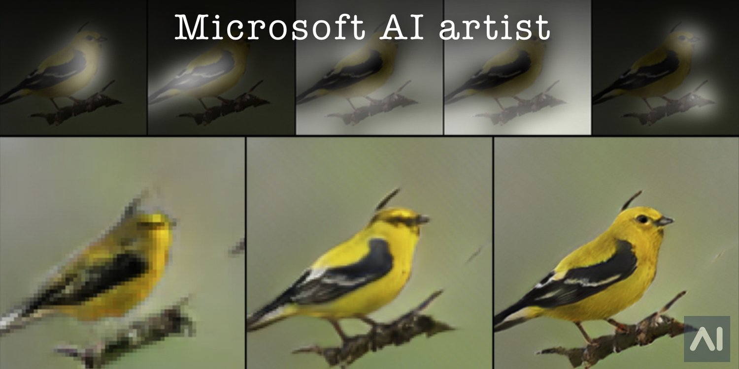 - microsoft researchers build a bot that draws - Microsoft Researchers Build a Bot that Draws — Artificial Intelligence News