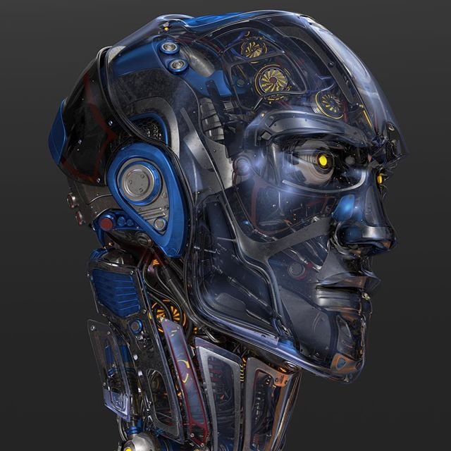 #robotic #head 2