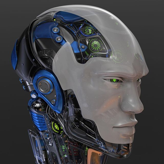 #robotic #head 4