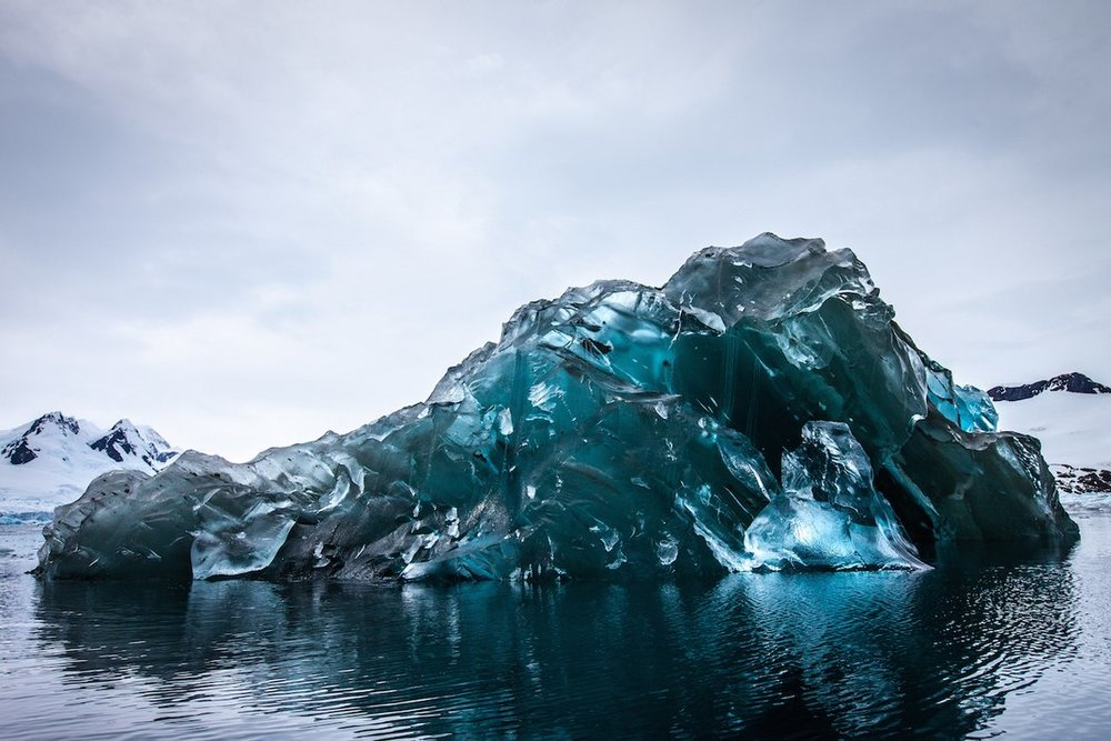 """The Real Leading Ladies"" educational mission is fueled by LIFE (Living Intentionally For Excellence) Leadership  ( Photo: Seldom seen view of the beautiful underside of an iceberg. Photo Credit: The Smithsonian)"