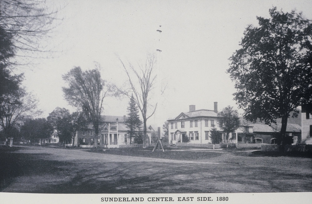 Sunderland Center Looking East  1880