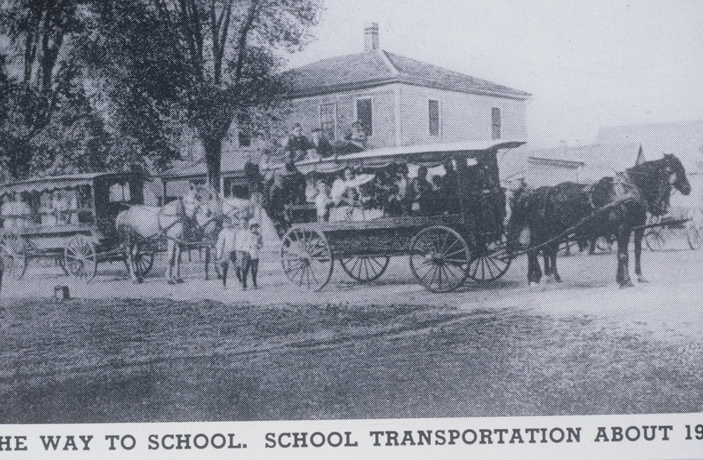 Sunderland School Transportation  1900