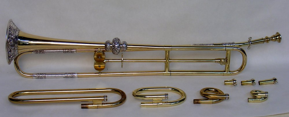 English Slide Trumpet by Kohler