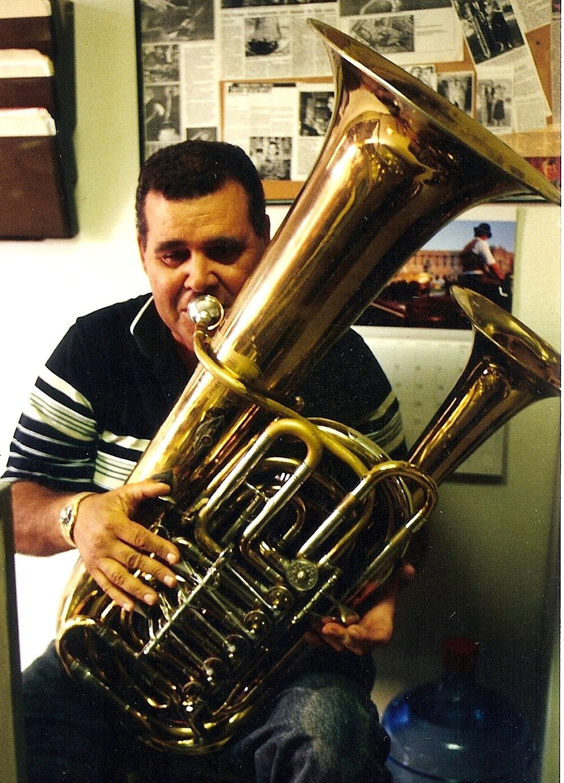 Tommy Johnsons Cimbasso Robb Stewart Brass Instruments