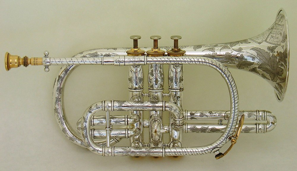 """Conic Acoustic Cornet"" by George McFadden"