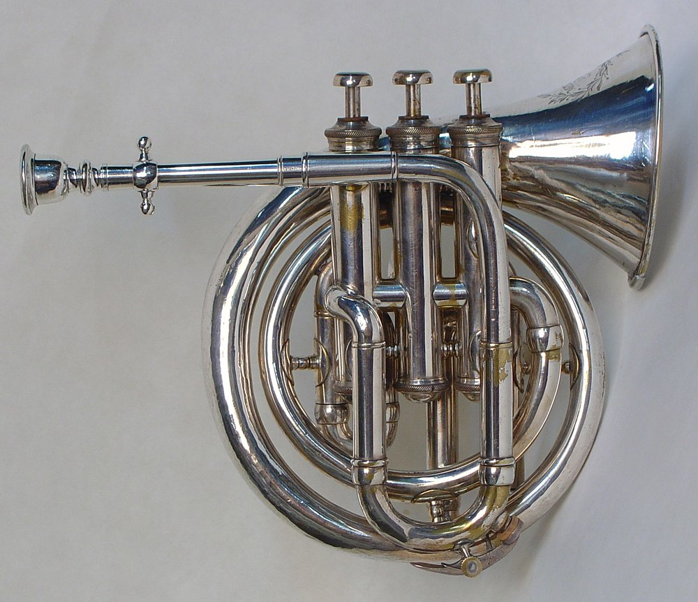 Circular Pocket Cornet by Metzler & Co.