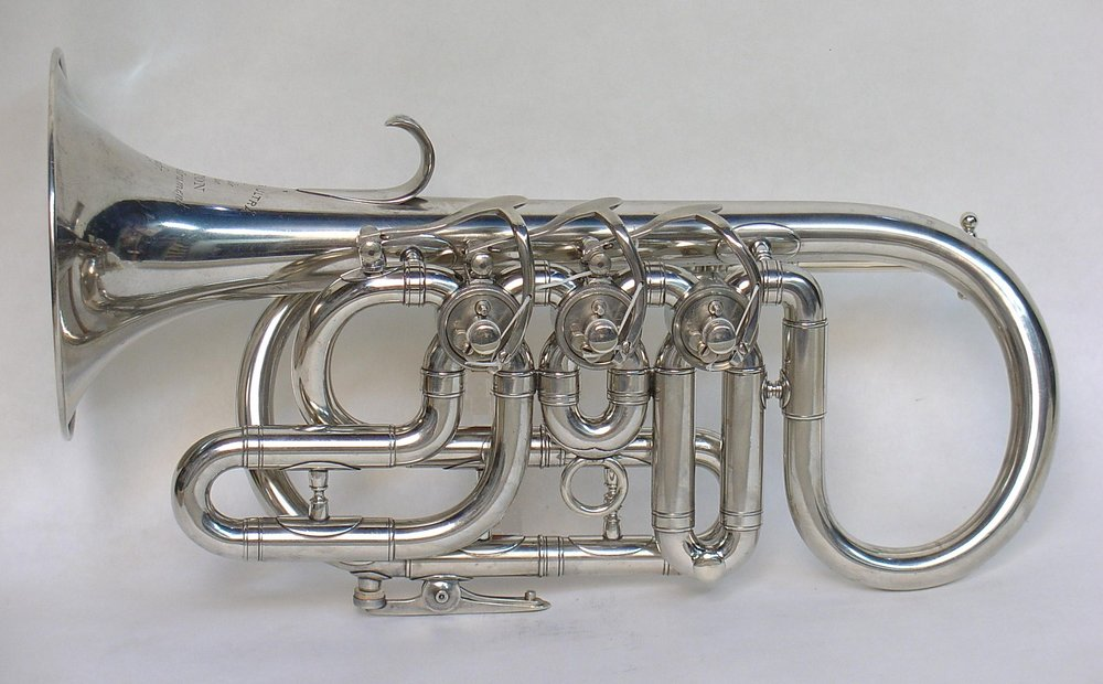 Two Star Cornets with Rotary Valves