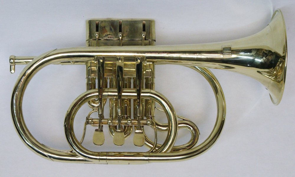 Cornet with Double Piston Valves