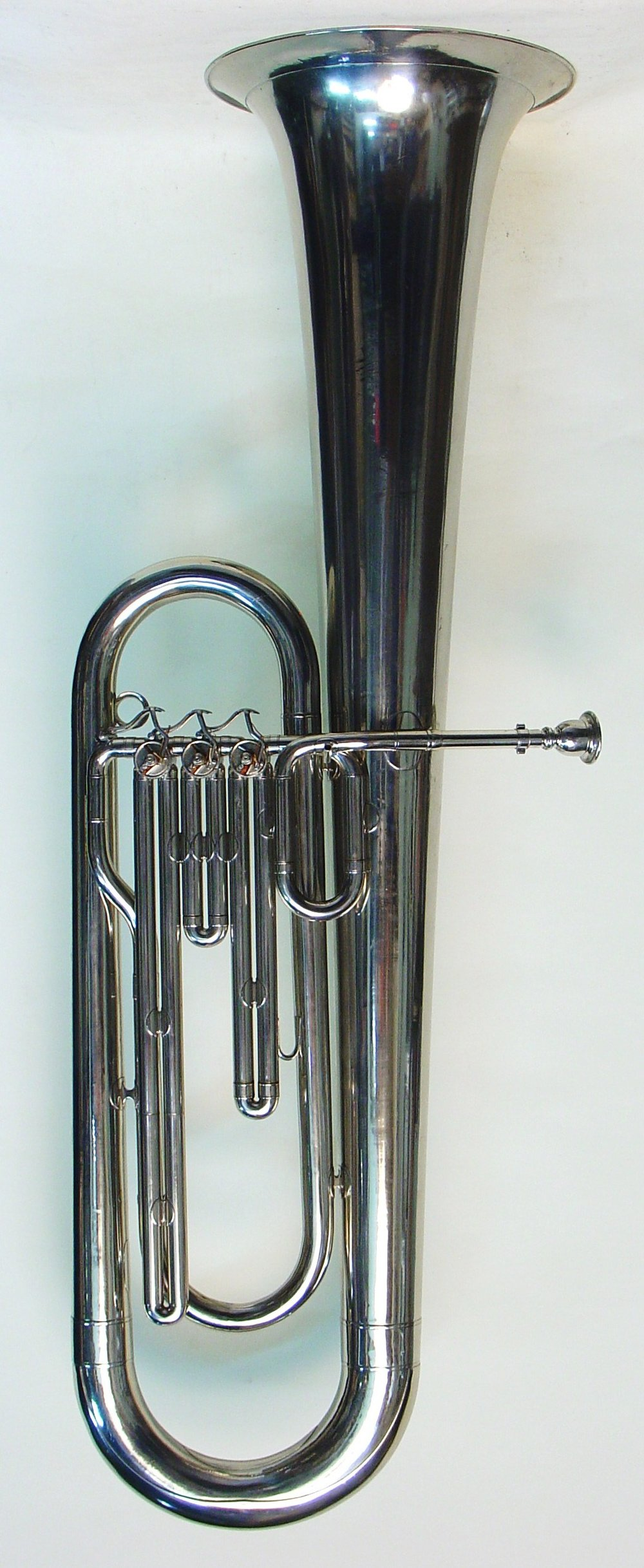 Tuba with Bell Up