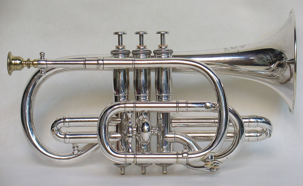 Bb Cornet with Piston Valves