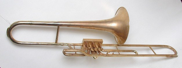 Hall & Quinby Trombone with Box Valves