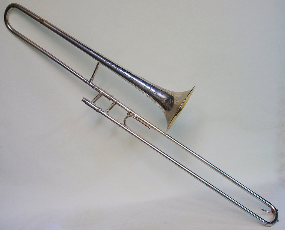 Trombone Made for Wilbur DeParis, Early 1920s