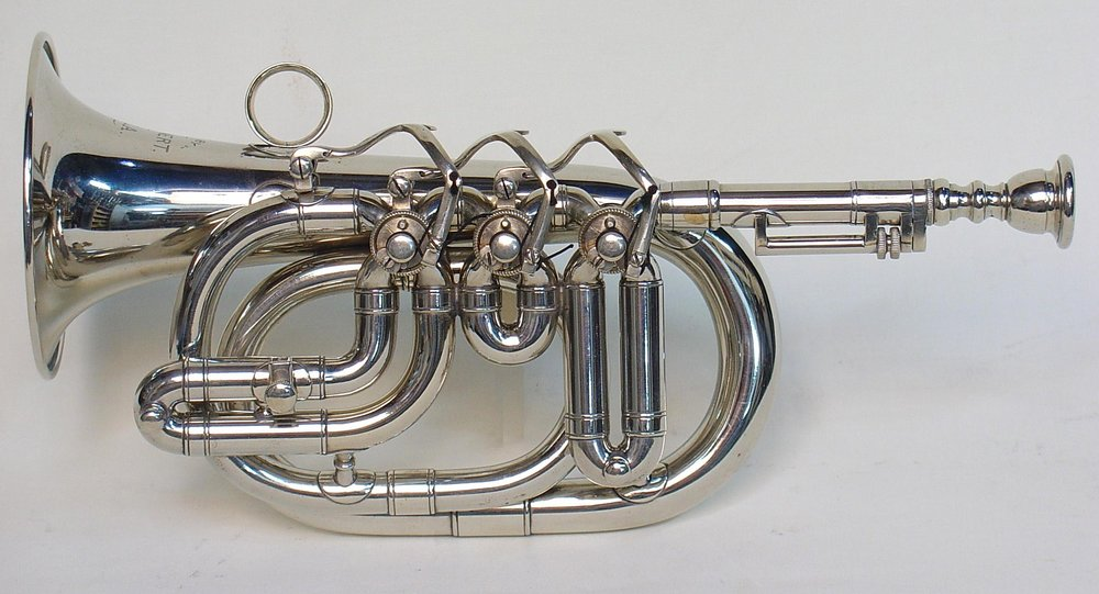 Pocket Eb Cornet by Henry Lehnert