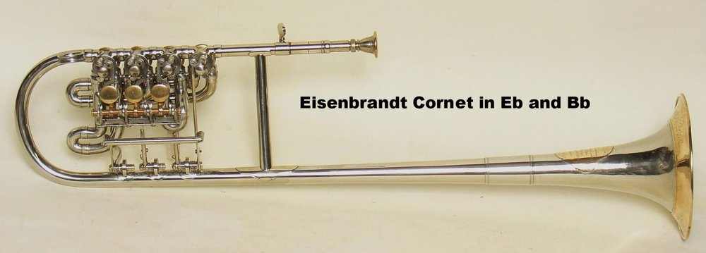 Eisenbrandt Cornet in Eb and Bb